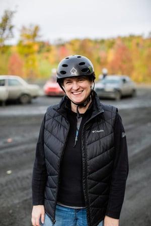 Rally Driver and AMSOIL Partner Karen Jankowski